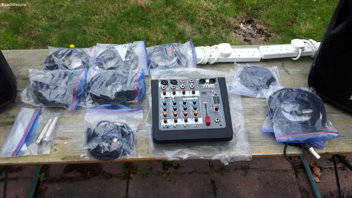 Complete Band/DJ PA System