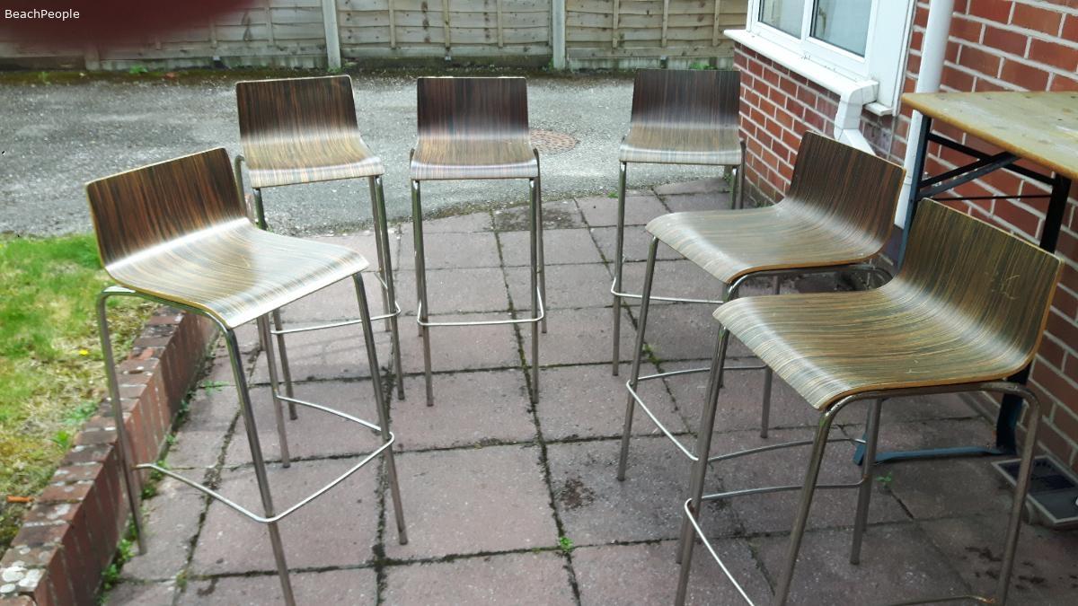 Six Bar Stools